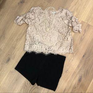 🌞🌞🌞 JOIE lace top